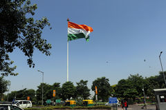 Tiranga, de nationale vlag van India royalty-vrije stock afbeelding