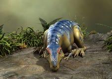 tirannosauro del dinosauro della rappresentazione 3D Immagine Stock
