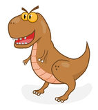 Tirannosaurus шаржа Стоковое фото RF