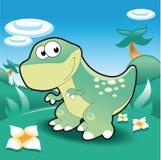 TirannosaurusRex ilustração do vetor