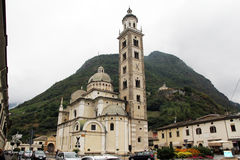 Tirano basilica Royalty Free Stock Photo