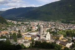 Tirano, Italy Stock Photo