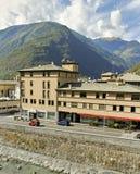 Tirano, Italy. Stock Images