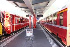 Tirano station Royalty Free Stock Photos