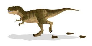 Tiranosaurio de la historieta (T-rex) libre illustration
