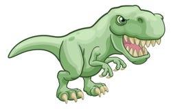 Tiranosaurio T Rex Dinosaur Cartoon Character ilustración del vector