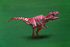 Tiranossauro Rex Foto de Stock