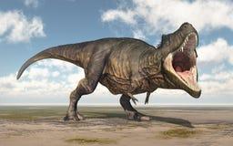 Tiranossauro Rex do dinossauro ilustração stock