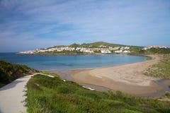 Tirant strand på Menorca Fotografering för Bildbyråer