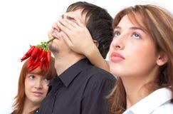 Tirante caldo cieco Fotografia Stock Libera da Diritti