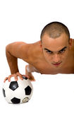 Tirante di calcio Fotografia Stock