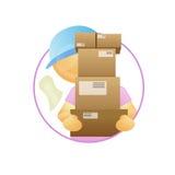 Tirante di consegna Immagini Stock