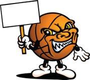 Tirante diabolico di pallacanestro Fotografia Stock
