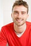 Tirante sorridente felice Fotografie Stock