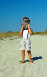 Tirante timido Fotografia Stock