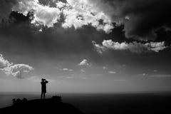 Tirar el cielo foto de archivo libre de regalías
