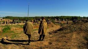 Tirar el ` de la frontera de Ilyinsky del ` de la película en la región de Kaluga de Rusia