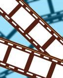 Tiras 4 da película Fotografia de Stock Royalty Free