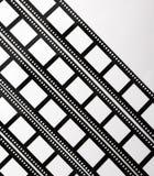 Tiras 5 da película Imagem de Stock