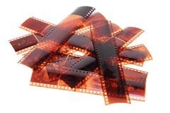 Tiras da película Fotografia de Stock