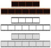 Tiras da película imagem de stock royalty free