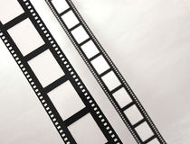 Tiras da película Imagem de Stock