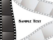 Tiras da película do vetor Imagens de Stock