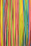 O rubberband pequeno descasca o teste padrão vertical Fotos de Stock Royalty Free