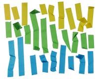 Tiras de cinta adhesiva Foto de archivo