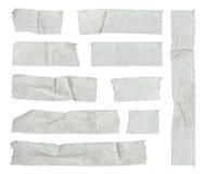 Tiras de cinta adhesiva Imagenes de archivo