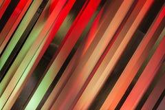 Tiras de cores Art Tones preto cor-de-rosa vermelho Fotos de Stock Royalty Free
