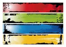 Tiras de Grunge Imágenes de archivo libres de regalías