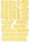Tiras de la cinta adhesiva Fotografía de archivo libre de regalías