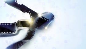 Tiras de la película fotos de archivo libres de regalías