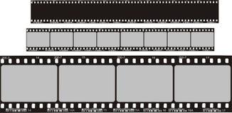 Tiras de la película Foto de archivo libre de regalías