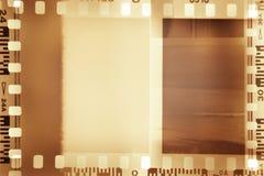 Tiras de la película Imagen de archivo libre de regalías