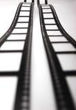 Tiras de la película imagen de archivo