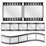 Tiras de la película del vector Fotos de archivo
