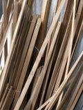 Tiras de madera Imágenes de archivo libres de regalías