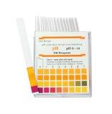 Tiras de prueba del pH Fotos de archivo