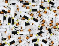 Tiras de teste frescas Fotos de Stock Royalty Free