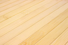 Tiras diagonales del bambú Fotografía de archivo libre de regalías