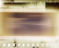 Tiras do filme Fotografia de Stock