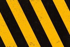 Textura inconsútil de las tiras de la advertencia del concrette Imagen de archivo libre de regalías