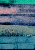 Tiras irregulares e inclinando-se artísticas, tiras do sumário, blocos Textured da cor Imagens de Stock Royalty Free