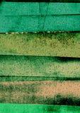 Tiras irregulares e inclinando-se artísticas, tiras do sumário, blocos Textured da cor Fotografia de Stock Royalty Free