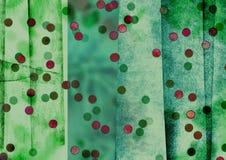 Tiras irregulares e inclinando-se artísticas, tiras do sumário, blocos Textured da cor Fotografia de Stock
