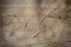 Tiras múltiplas da fita adesiva para o fundo usado. Imagem de Stock