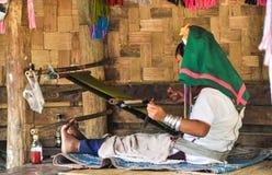 Tiras tradicionais de tecelagem Imagem de Stock Royalty Free