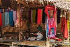 Tiras tradicionais de tecelagem Fotos de Stock Royalty Free